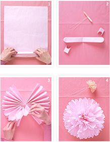 Why not wedding: Pom pom di carta