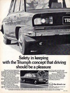Triumph 2000, Triumph Motor, Triumph Car, Australian Cars, Birmingham Uk, Advertising, Ads, Childhood Memories, Classic Cars