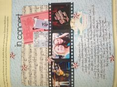 concert page per creating keepsakes magazine