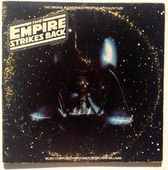 Star Wars / The Empire Strikes Back Soundtrack LP Vinyl Record Album, RSO - Soundtrack, Original Pressing The Imperial March, Disney Records, London Symphony Orchestra, Film Story, Star Wars Film, Main Theme, Vintage Vinyl Records, The Empire Strikes Back, Great Films