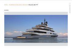 Benetti Design Innovation - Axis Horacio Bozzo  www.benettiyachts.it