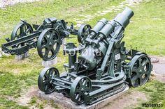 Austro Hungarian WWI Siege Howitzer 305 mm Mörser Model 1911