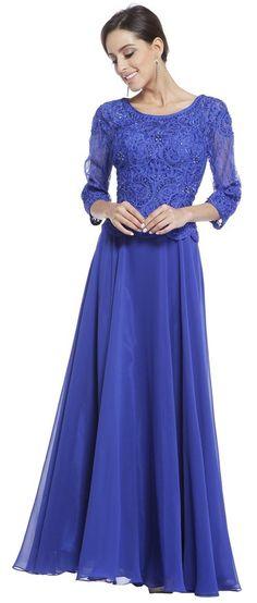 Cheap Mob Plus Size Royal Blue Formal Dress Tank Straps Includes