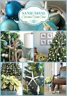 Coastal Christmas Home Tour