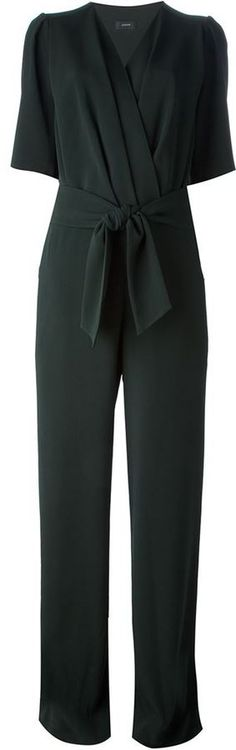 Dark Green Jumpsuit by Joseph. Buy for $1,053 from farfetch.com