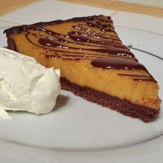 Autumn has set in and as such comfort foods are on my mind so I decided to create a warm and sweet Pud, So here is my Chilli Chocolate Pumpkin Pie recipe Chocolate Pumpkin Pie, Pumpkin Pie Recipes, Recipies, Cheesecake, Sweet, Desserts, Food, Recipes, Cheesecake Cake
