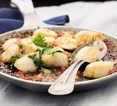 Pan-fried scallops with lime & coriander recipe - Recipes - BBC Good Food
