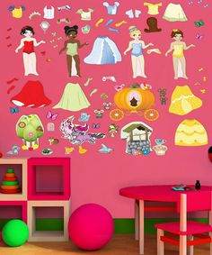 Take a look at this Princess Wall Decal Set by Mona MELisa Designs on #zulily today!