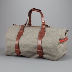Croots Holdall Salt and Pepper - Frans Boone Store