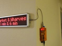 DIY Home LED transit sign so you are never late again (Raspberry Pi project!)