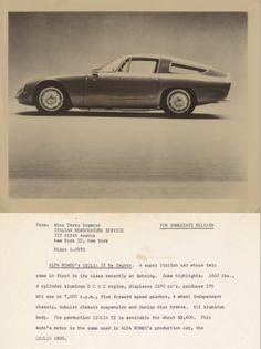 Alfa Romeo TZ1...