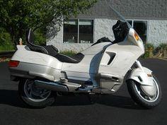 So retro.  1989 Honda PC800 Pacific Coast - 21,396 miles #cyclecrunch