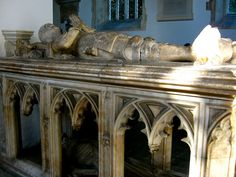 Tomb of John FitzAlan, 14th Earl of Arundel, FitzAlan Chapel, Arundel Castle, West Sussex, England. John FitzAlan, 14th Earl of Arundel, 4th Baron Maltravers KG (14 February 1408 – 12 June 1435) was an English nobleman and military commander during the later phases of the Hundred Years' War. His father, John FitzAlan, 3rd Baron Maltravers, fought a long battle to lay claim to the Arundel earldom, a battle that was not finally resolved until after the father's death.