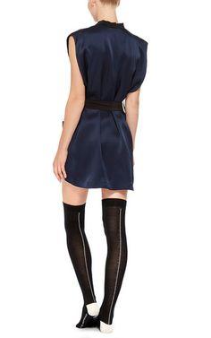 Luxe Cashmere Seamed Socks  by KIKI DE MONTPARNASSE Now Available on Moda Operandi