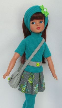 """SINDY'S 1960s SCHOOL-GIRL CRUSH!  FOR TONNER 11"""" SINDY.MADE BY SSDESIGNS"""