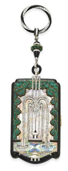 Vanity Case, Mauboussin, 1925