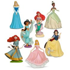 Disney princess mini-figure play set gifts for little girls