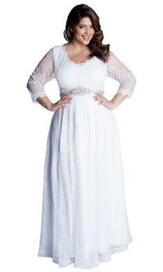 1000 images about beach wedding gowns on pinterest plus for Plus size hawaiian wedding dresses