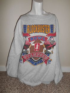 1993  90s  Vintage STANFORD  Blockbuster by ATELIERVINTAGESHOP