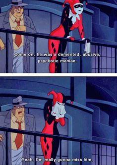 Harley Quinn, i love this