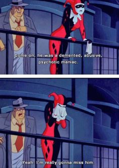 Harley Quinn, i love this
