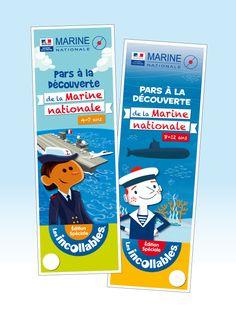 """Eventail les Incollables® - Marine nationale """"Pars à la découverte de la Marine nationale"""" - www.playbac-editions-speciales.fr"""