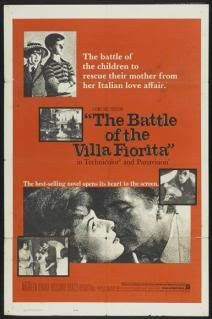 """The Battle of the Villa Fiorita is a 1965 British drama film, based on the novel by Rumer Godden, directed by Delmer Daves. It stars Maureen O'Hara and Rossano Brazzi. O'Hara: """"Late April 1964, to Italy to make the film with Rossano Brazzi. I began the picture with high hopes, but the picture quickly turned into a disaster. Rossano Brazzi wasn't right for the part."""""""