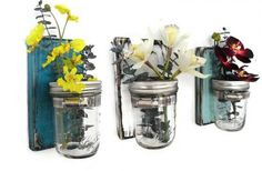 Mason Jar Sconces - 50% Off! | Find all styles at www.groopdealz.com