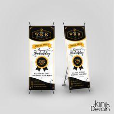 Desain Banner Warunk W.K.K by Klinik Desain Ku Banner Design