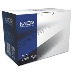 80xm Compatible Micr Toner, Black