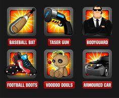 December 2012: Icons for Jokko games by DorarpolHendra*