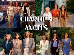 Charlie's Angels - My all-time favorite show Good Morning Angel, Comedy Tv Series, Police, Kate Jackson, Cheryl Ladd, Farrah Fawcett, Tv Land, Jaclyn Smith, Old Tv Shows