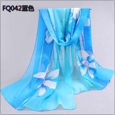 2016 Brand Woman Silk Scarf Printing Hijab Women's Scarves Fashion Chiffon Silk soft Scarfs Shawl Scarves Wraps 160*50cm