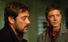 It's been almost a week since Jeffrey Dean Morgan stomped all over the hearts of Walking Dead fans when he took his bat to the heads of both Abraham and Glenn. But for Supernatural fans, Morgan will always be known as the slightly less violent John Winchester, the revenge-driven father of Sam and Dean. Let's just say John wasn't always the best father, but he was definitely better than Negan (as if that's hard).