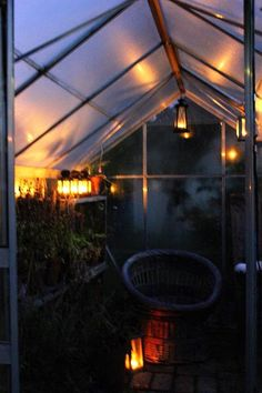 greenhouse in winter vibes