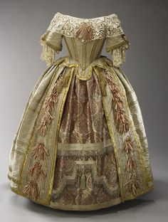 Queen Victoria's costume for the Stuart Ball, 1851 - From the Royal Collection