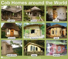 cob homes from around the world.