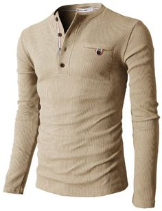 H2H Mens Bound Pocket Henley Shirts of Waffle Cotton BEIGE US S/Asia M (KMTTL062) H2H http://www.amazon.com/dp/B00JR2N6BW/ref=cm_sw_r_pi_dp_H-Tfvb09EQ1KM