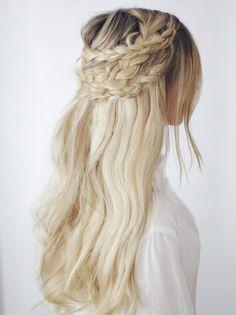 Half-up Boho Braids ┊ Hair Tutorial | Kassinka | Bloglovin'