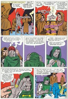 Origin of Dr. Doom - Fantastic Four Annual #2 - A Year of Cool Comic Book Moments - Day 230 - Comics Should Be Good! @ Comic Book Resources