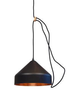 Lloop lamp copper black - Ontwerplabel Vij5 - BijzonderMOOI* Dutch design online
