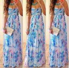 long dress for maybe a summer wedding