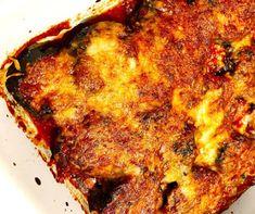 Γλυκό Ψυγείου Με Γιαούρτι - EditYourLife Magazine Greek Recipes, Paella, Eggplant, Lasagna, Side Dishes, Pork, Easy Meals, Food And Drink, American Women