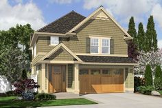 The Perfect Blend of Beauty and Efficiency. Plan 2174WH The Tyne is a 1823 SqFt Cottage, Craftsman style home plan featuring and Upstairs Utility Room by Alan Mascord Design Associates. View our entire house plan collection on Houseplans.co.