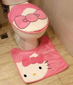 1000 ideas about hello kitty bathroom on pinterest hello kitty sanrio and hello kitty kitchen. Black Bedroom Furniture Sets. Home Design Ideas