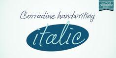Corradine Handwriting Italic™