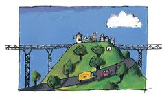 Emilio Urberuaga, Premio Nacional de Ilustración 2011, ilustra El cartero que se convirtió en carta, un cuento de Alfredo Gómez Cerdá editado por Edelvives.