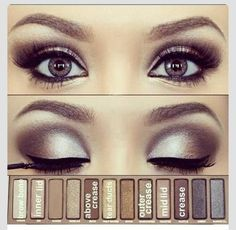 Naked 2 Eyeshadow Tutorial!Please like if you save! Thank you! ❤