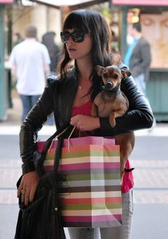 DVT with her dachies ;) Celebrity dogs, Dachshund love