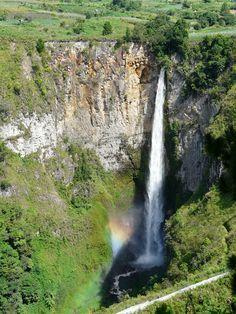 Sipisopiso Waterfall - North Sumatra, Indonesia